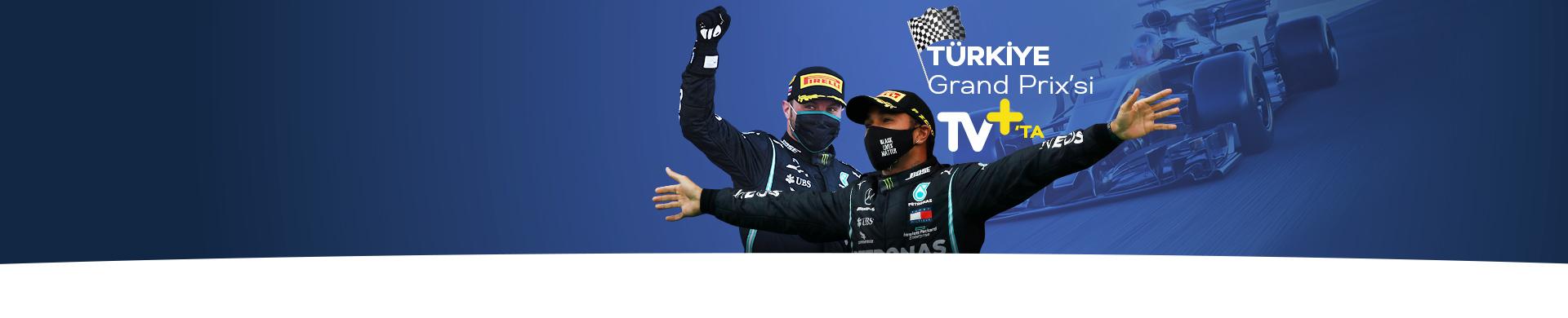 Formula 1 İstanbul GP TV+'ta