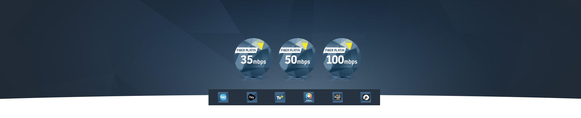 Eviniz İçin Fiber Platin Paketleri Seçin, Turkcell Platinum Ayrıcalıklarını Yaşayın.