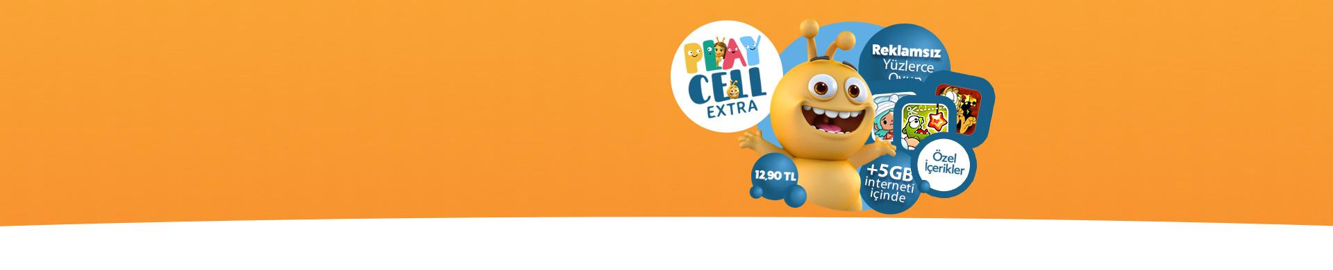 Playcell Extra Fırsatı En sevilen oyunları ücretsiz ve reklamsız oynayın!