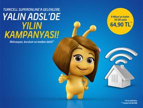 Hızlı İnternet - Yalın ADSL Kampanyası