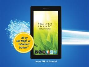 Lenovo Tab3 7 Essential Kampanyası