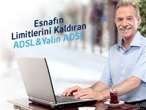 Esnafın Limitlerini Kaldıran İnternet ADSL